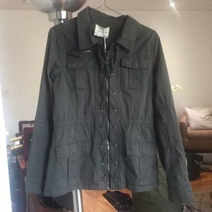 Army green jacket - size small
